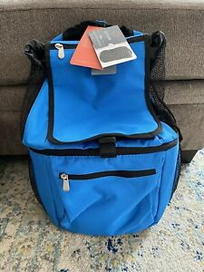 ONIVA Zuma Insulated Cooler Backpack Bag, Blue, Picnic Time, NEW