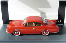 Porsche 1600 coupe 1957 Beutler red neo 46205 1/43 vw volkswagen red rot
