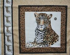 Leopard cushion panel 54 x 44 cm Timeless Treasures 100% Cotton