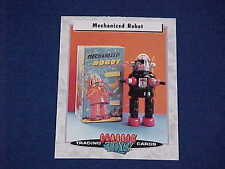 Classic Toys Trading Cards Mechanized Robby The Robot & Box Forbidden Planet