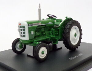 Hachette 1/43 Scale Model Tractor HT091 - Oliver 600 - Green