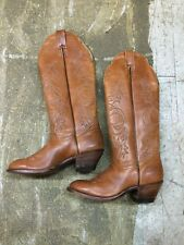 "BOULET western cowboy knee 17"" riding equestrian womens never worn boots sz 6.5C"