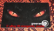 "GREEN EARTH CANADA GIFT CARD ""DRAGON EYES"" NO VALUE NEW COLLECTIBLE 2018"