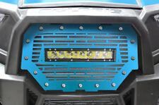 "RZR 1000 Light Bar Grille Polaris UTV 16-17 Velocity Blue + 10"" 40W LED Lightbar"