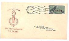 UU153 1961 PAKISTAN Karachi FDC *Lahore Stamp Exhibition* GB {samwells-covers}