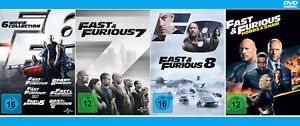The Fast and the Furious 1+2+3+4+5+6+7+8 + Hobbs & Shaw [DVD]