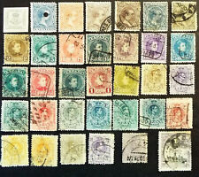 EARLY STAMPS FROM SPAIN 1890s TO 1920s