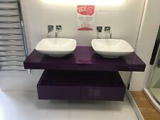 Double Basin Worktop and V and B Basins