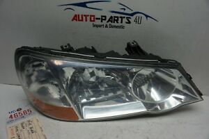 inside crack 2002 2003 ACURA TL RIGHT XENON HEADLIGHT OEM HOUSING ONLY UC46585
