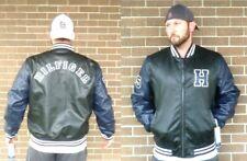 Tommy Hilfiger NAVY & BLACK Faux Leather Varsity...
