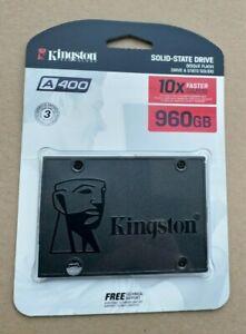 960GB Kingston SSDNow A400 SATA3 2.5 SSD 1TB SA400S37/960G (NEW in Original Box)