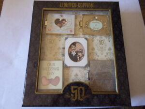 Disney Trading Pins Haunted Mansion 50th Anniversary Wedding Album Box Set