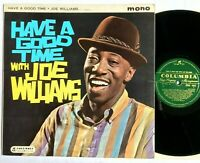 JOE WILLIAMS Have A Good Time With / 1961 Vocal Jazz  Columbia ‎33SX 1415 VG+/VG