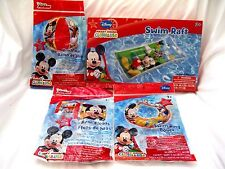 Mickey Mouse Clubhouse Mickey Mouse Beach Ball,Swim Arm Bands,Swim Ring, & Raft