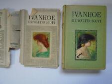 Ivanhoe, Sir Walter Scott, Hurst Publishers, Early 1900s Edition, DJ