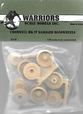 Warriors Cromwell MK IV Damaged Road Wheels British Tank 1/35 Scale #WA35190