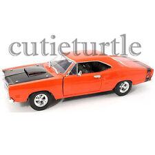 Motormax 1969 Dodge Cornet Super Bee 1:24 Diecast Car 73315 Orange