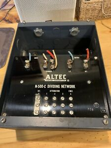 Vintage Altec Lansing N 500 C Dividing Network - Crossover tested and working