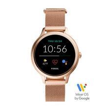 Smartwatch Donna FOSSIL FTW6068 Bracciale Acciaio Mesh Rosè GEN 5E