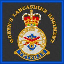 HM Forces Queen's Lancashire Regiment Veteran Patch
