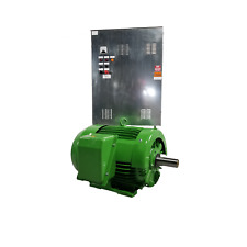 30 HP SINGLE-PHASE BELLE Motor, No VFD or Phase Converter Needed, 460v 1800 RPM
