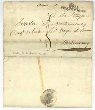 No 11 ARM. D'ITALIE Forli 1802 Armeebrief Napoleon Soldatenbrief Montmorency