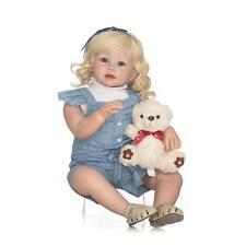 """28"""" Soft Body Silicone Reborn Baby Preemie Doll Soft Vinyl Lifelike Newborn Cute"""