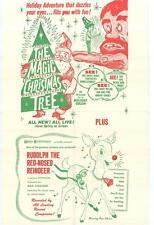 THE MAGIC CHRISTMAS TREE Movie POSTER 27x40 B Chris Kroesen Valerie Hobbs Robert