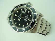 Rolex Submariner Date Ref. 16800 Transitional Model 8 mil S/N Circa 1984
