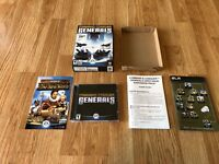 Command & Conquer Generals PC CD Game In Box