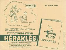 Buvard vintage Egypte Héraklès
