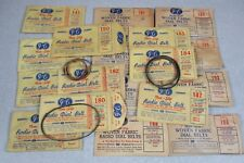 Antique Tube Radio Dial Belt General Cement JFD 130 Different Types NOS