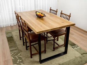 Eichentisch Massivtisch Eichenplatte Holztisch Eiche Tisch massiv Antique OAK