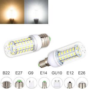 LED Corn light Bulb E27 E12 E14 B22 G9 GU10 5730 SMD 110V 220V Save Energy Lamp
