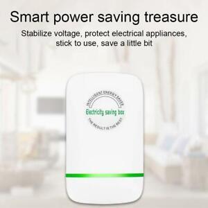 White Electricity Saving Box Electric Energy Saving Saver Power Device Tool Nice