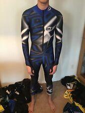 full body Downhill cross country xc skiing ski Racing skinsuit speedsuit Large