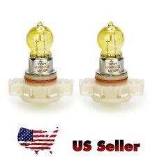 Halogen Bulb / Pair - H16/5202, 35W,12V, Yellow Auto Fog Light, Lamp, US Seller!