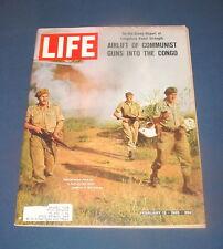 LIFE MAGAZINE FEBRUARY 12 1965 MARTIN LUTHER KING JAIL HONOR CONGO GUNS