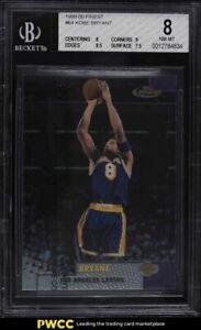 1999 Finest Basketball w/ Coating Kobe Bryant #64 BGS 8 NM-MT
