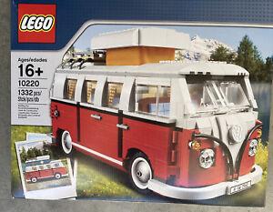 NEW LEGO Creator Expert Volkswagen T1 Camper Van 10220 Construction Set 1334 pcs