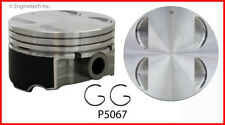 Engine Piston Set ENGINETECH, INC. P5067(6)STD