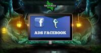 SOCIAL WEB MARKETING • Servizio pubblicità • FACEBOOK