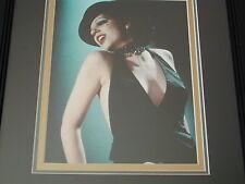 LIZA MINELLI, CABARET, SIGNED AUTOGRAPH, 8X10 PHOTO, framed