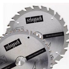 Scheppach HW Sägeblatt 160x20 mm x 2,4 mm Z 48 - Z 24 (2er Set)