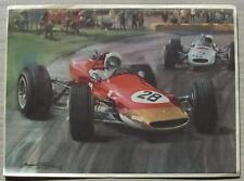 LOTUS Michael Turner colore stampa dal motore MAGAZINE 7 DICEMBRE 1968 Motorsport