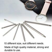 50 pcs Silver Metal Watch Screw Link Pins For Band Strap Repair Accessory Parts
