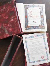 MICHELET LOUIS XIII ET RICHELIEU GRADASSI , 1983 1 DES 300 VELIN D'ARCHES N° 473