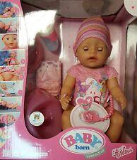 Zapf creation Baby Born Interactive Puppe Mädchen 43cm NEU OVP
