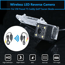 Backup Reverse Rear HD Camera Wireless For VW Golf Polo Passat T5 Touran Caddy