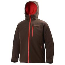 "Helly Hansen ""Odin Insulated Soft Shell"" Jacket (Retail $250) NWT Mens Expresso"